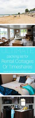does it or list it leave the furniture what to bring to a rental cottage or timeshare sugar