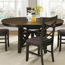 Mission Style Dining Room Set by Home Design Round Dining Room Table For Agathosfoundation Org
