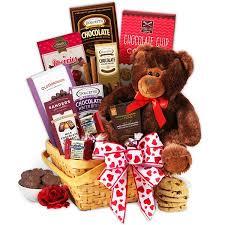 chocolate gift baskets teddy chocolates gift basket walmart