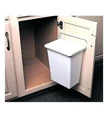 trash cans for kitchen cabinets trash cans for kitchen cabinets kitchen trash can cabinet under sink