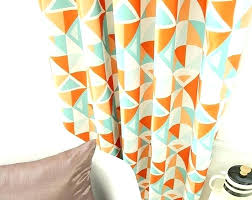Patterned Window Curtains White Geometric Curtains Marvelous Patterned Window Curtains