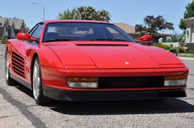 classic ferrari testarossa 1988 ferrari testarossa red hills rods and choppers inc st