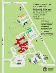 Iowa State Campus Map Grand Island Va Medical Center Va Nebraska Western Iowa Health