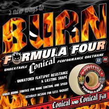 formula 4 spitfire spitfire formula 4 conical full 52mm 101a skateboard wheels