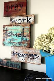 diy paint your own fall pallet signs picmia