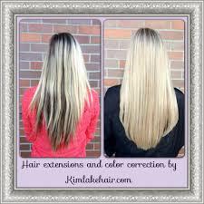 Colored Hair Extension by Kim Lake Hair Seattle Wa Hair Extensions Custom Blends Hair