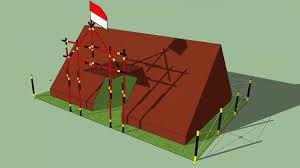 desain warna gapura desain 3d tenda dan gapura 15 tongkat youtube