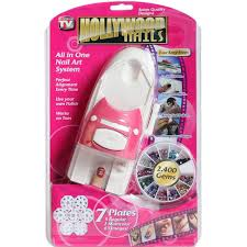 hollywood nails all in one professional nail art system kit as