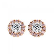 pink diamond earrings pink diamond collection earrings bracelets calleija