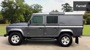 land rover defender 2015 used land rover defender 110 lwb diesel xs utility wagon tdci 2 2