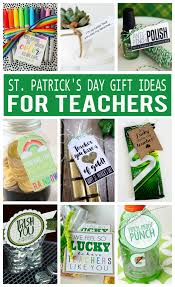 day gift ideas st s day gifts for teachers eighteen25