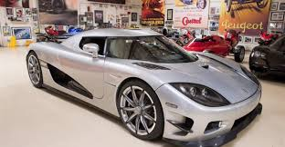 koenigsegg ccx white jay leno drives limited edition koenigsegg trevita ccxr once