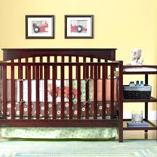 Mini Cribs With Changing Table Cribs And Changing Tables Mini Crib Table Pad Combo Target Walmart