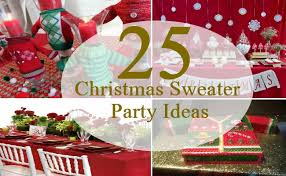 How To Decorate An Ugly Christmas Sweater - 25 awesomely fun ugly christmas sweater party ideas bash corner