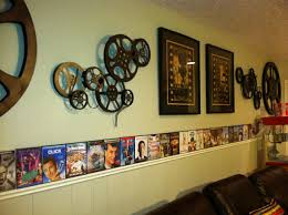 movie theater themed home decor interior design simple movie themed wall decor room design plan
