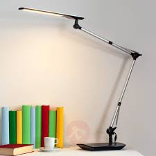 felipe led desk lamp with clip on base lights co uk