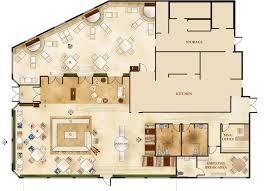 modern concept italian restaurant floor plan and italian villa