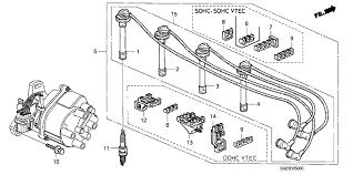 32722 p2a 003 genuine honda wire ignition sumitomo