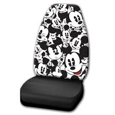 How Much Are Seat Covers At Walmart by Disney Seat Cover 1 Mickey Mouse Expressions Walmart Com