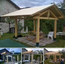 Diy Outdoor Gazebo Canopy by Build A Gazebo From Google Sketchup To Real World Backyard