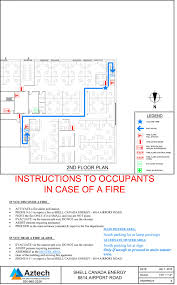 Fire Evacuation Floor Plan Fire Safety Plans U0026 Evacuation Plans U2013 Aztech