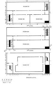 Three Story Floor Plans Evacnet4 User U0027s Guide
