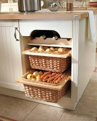 Storage Cabinets Kitchen Cabinet With Baskets Kitchen Cabinets Wicker Basket Drawers