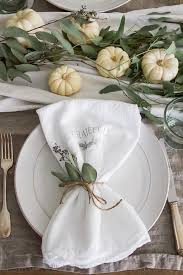 thanksgiving napkin transfer tutorial so much better with age