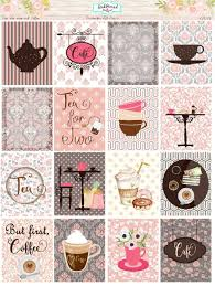 coffee planner stickers printable planner stickers weekly kit ec vertical two for tea and coffee