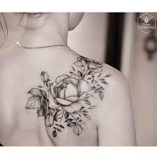 best 25 flower tattoo shoulder ideas on pinterest flower