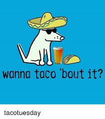 Taco Memes - wanna taco bout it tacotuesday meme on me me