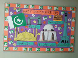 independence day softboard 2016 bulliten boards by sumera saleem