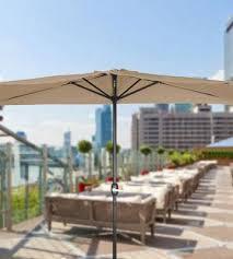 Half Umbrella For Patio 5 Best Patio Umbrellas Reviews Of 2018 Bestadvisor