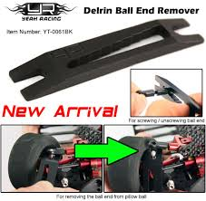 Hudy Break In Bench - yeah racing delrin ball end remover discontinued yt 0061bk