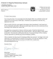 letters recommendation abby rappel