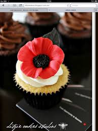 Cake Decorating Equipment Uk Remembrance Day Poppy Cupcake For All Your Cake Decorating