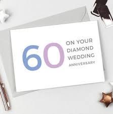 60 wedding anniversary 60th diamond wedding anniversary gifts notonthehighstreet