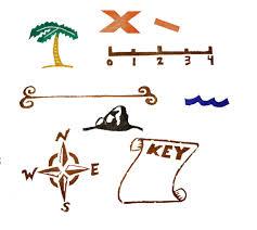 Weather Map Symbols Treasure Map Symbols Clip Art 41