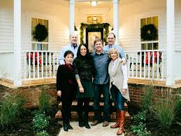 joanna gaines parents fixer upper renovation and holiday decor at magnolia house bed and