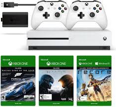 amazon com xbox one s 500gb console play u0026 charge kit xbox