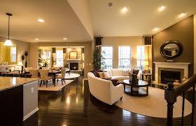 open layout floor plans open floor plan layout all hardwood floors through to hearth room