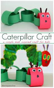 simple caterpillar craft for kids caterpillar book caterpillar