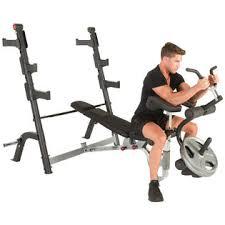 Weight Bench Leg Exercises Ironman X Class Weight Bench With Preacher Curl And Leg Developer
