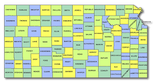 map of counties in kansas kansas cart licensing county state and regulations