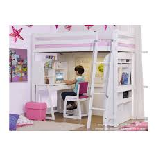 Study Desk Malaysia Sleeper With Pinewood Study Series Package B Color White
