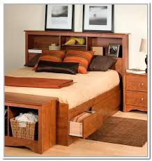 bookcase beds with storage bookcase headboard king best bookcase