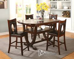 Counter Height Dining Room Table Sets by Oracle Table 21710 Mainline Inc Counter Height Dining Sets At