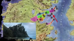 Map Of Westeros World by Dragonstone Castles Of Westeros Youtube