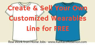 create u0026 sell your own customized t shirt line for free real