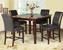 chair coaster newhouse counter height table with lazy susan 1